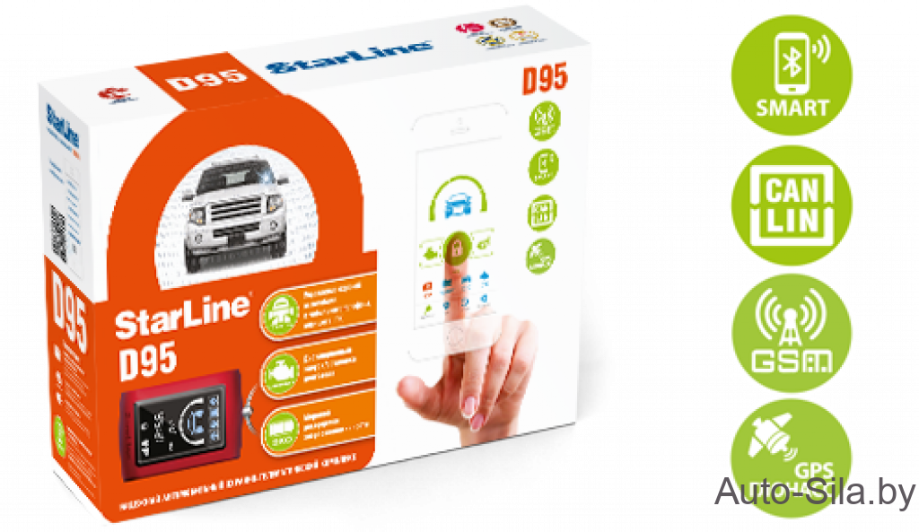 StarLine D95 BT CAN-LIN GSM/GPS