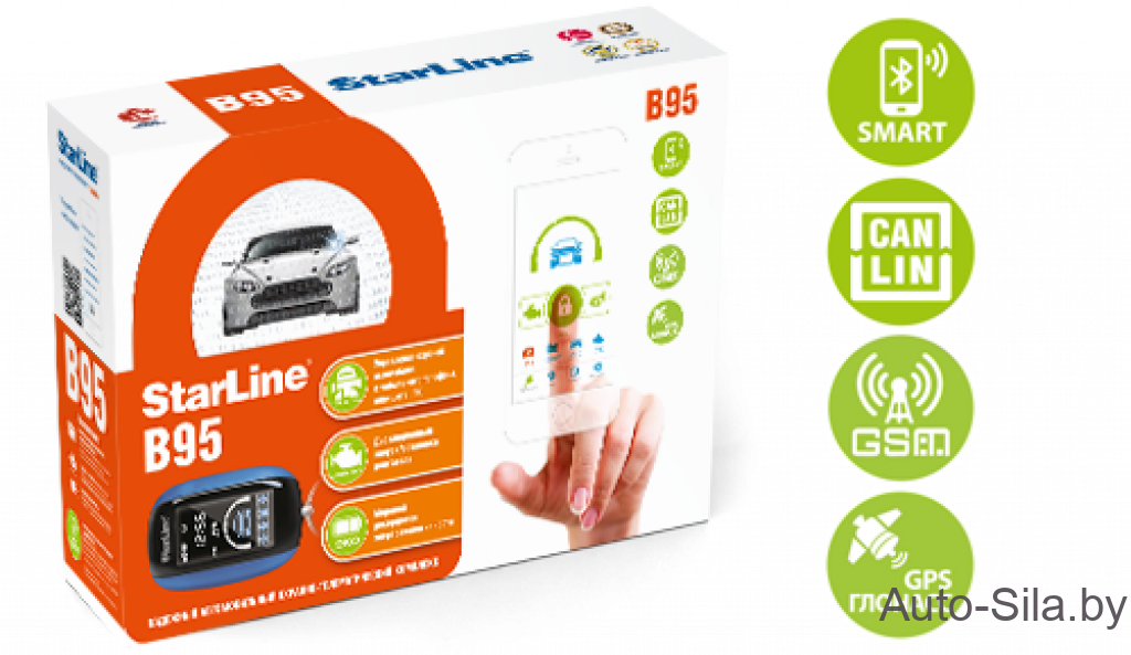 StarLine B95 BT CAN-LIN GSM/GPS